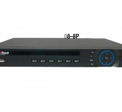 Видеорегистратор Dahua DHI-NVR4208-8P