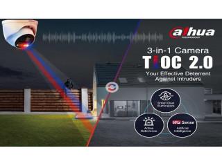 Представлено обновление серии камер видеонаблюдения «Три в одном»: TiOC 2.0