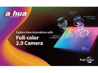 Dahua представляет обновленную линейку камер видеонаблюдения Full Color – версию 2.0