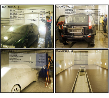 Cистема пультовой охраны для автомойки