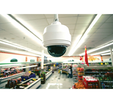 Монтаж охранных систем для магазина