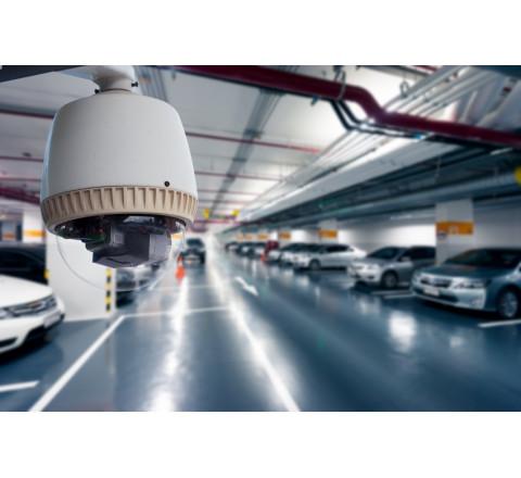 Монтаж систем видеонаблюдения для парковки