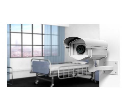 Монтаж охранных систем для поликлиники