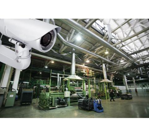 Обслуживание систем видеонаблюдения для производства