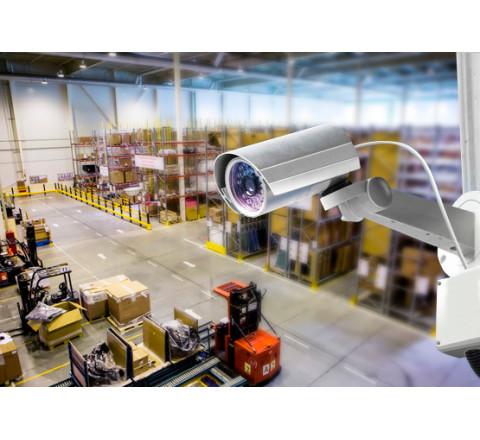Монтаж охранных систем для склада