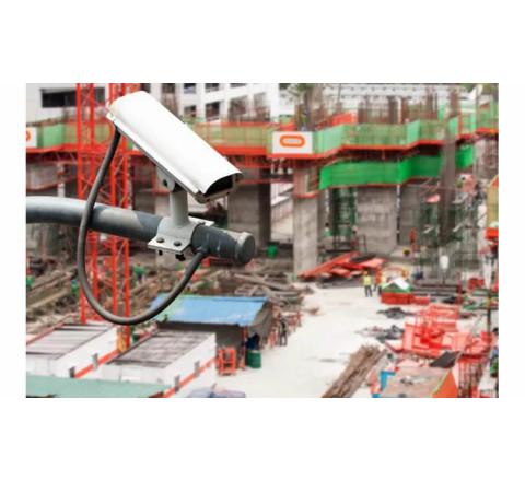 Обслуживание охранных систем для стройплощадки