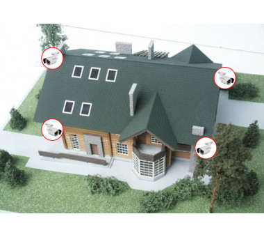 Видеонаблюдение для загородного дома