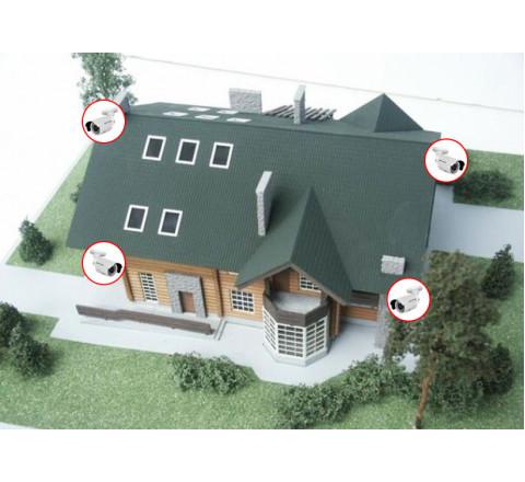 Монтаж систем контроля доступа (СКУД) для загородного дома