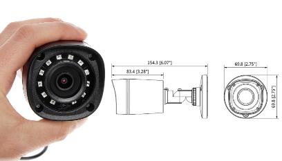 Dahua DH-HAC-HFW1220RP-0280B — видеокамера https://www.dahua-russia.com.ru